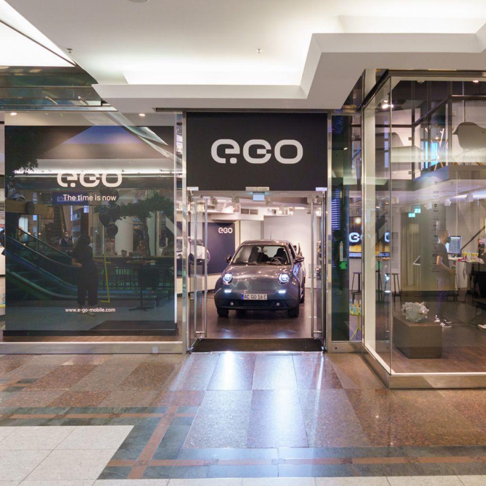 e.GO Brand Store Düsseldorf