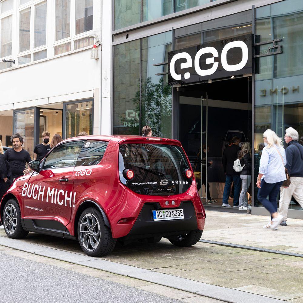 e.GO Brand Store Hamburg